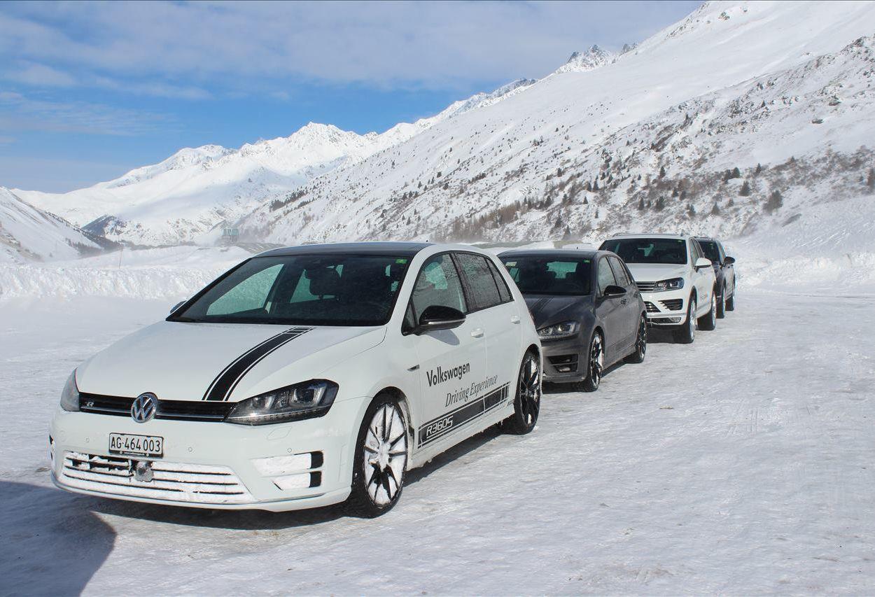 Entraînement à la conduite d'hiver Volkswagen 2017